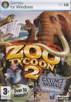 ZOO TYCOON 2 EXTINCT ANIMALS PC
